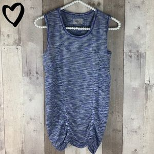 Athleta multicolor workout tank top size small